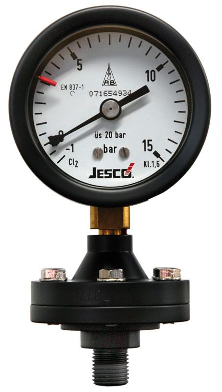 Contact Pressure Gauges Dosing Pumps Chlorine Gas